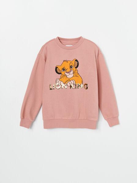 Reserved - Cream The Lion King Sweatshirt, Kids Girl