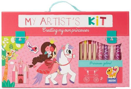 AUZOU - My Artist's Kit Creating My Own Princesses