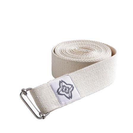KIMJALY - Organic Cotton Yoga Strap - Iced Coffee