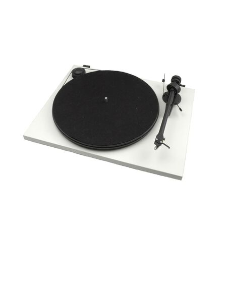 PRO-JECT AUDIO SYSTEMS - Pro-Ject Essential II Phono Usb Matt White Om5E Turntable