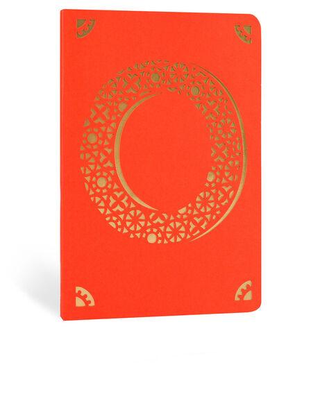 PORTICO DESIGN LTD - Portico Design O Monogram Red A6 Notebook