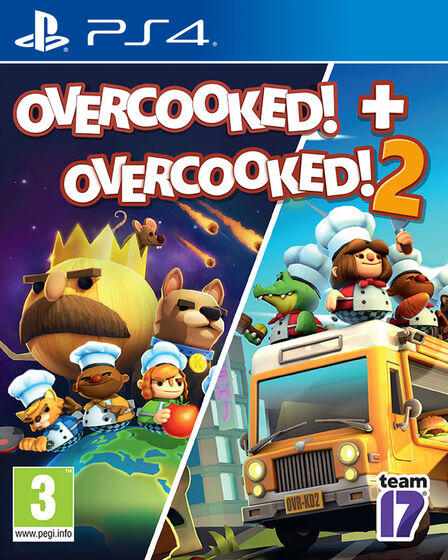 SOLD OUT SOFTWARES - Overcooked! + Overcooked! 2 - PS4