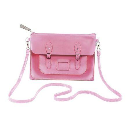 CAT'S EYE - Cats Eye Satchel Pink Small Cross Body Bag