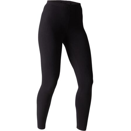 NYAMBA - W26 L30  Cotton Fitness Leggings Salto, Black
