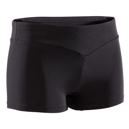 DOMYOS - 10-11Y  Artistic Gymnastics Shorts 100 - Black, Black
