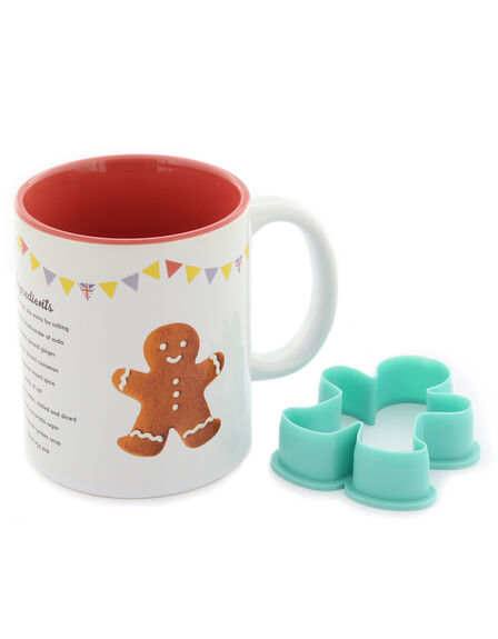 WOW STUFF - Wow Stuff Great British Bake Off Gingerbread Man Recipe Mug