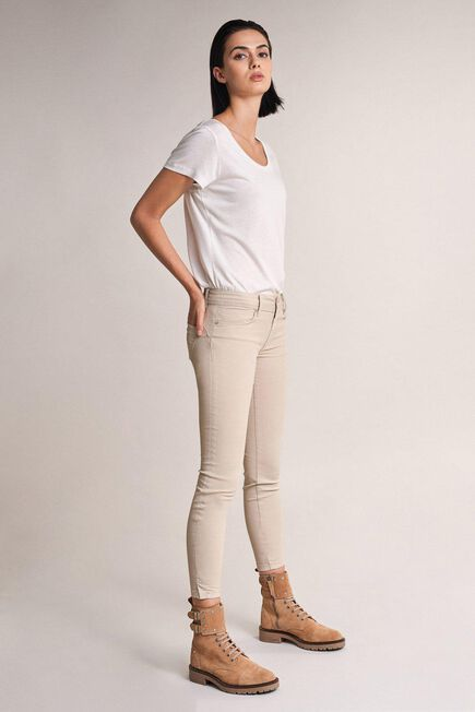 Salsa Jeans - Beige Push Up Wonder capri trousers