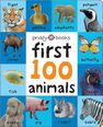 PRIDDY BOOKS UK - First 100 Soft To Touch Animals (Large Ed)