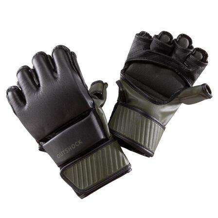 OUTSHOCK - M/L  100 Combat Gloves, Black