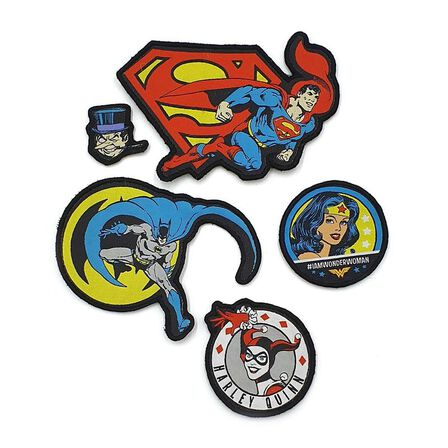 FABRIC FLAVOURS - Fabric Flavours DC Comics Badgeables Unisex Black Backpack