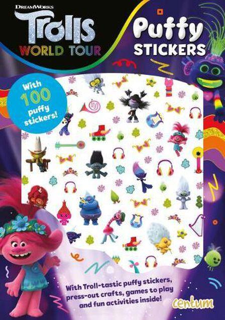 CENTUM BOOKS - Trolls World Tour Puffy Sticker Book