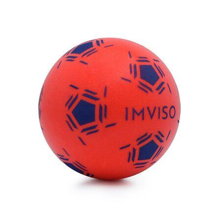 IMVISO - 1  Futsal Mini Foam Ball, Red