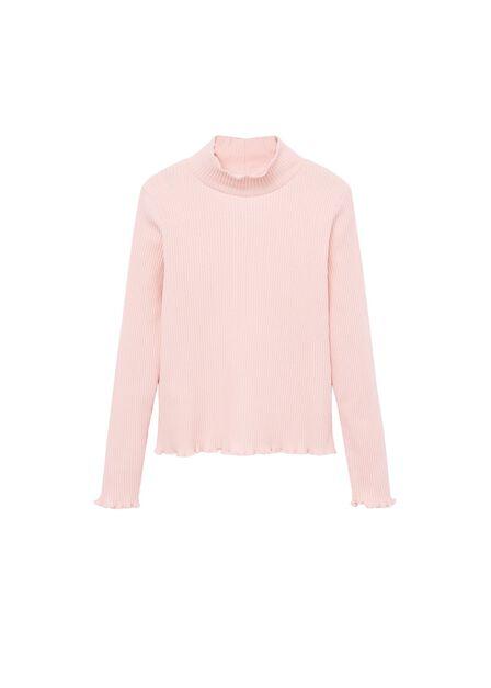 Mango - lt-pastel pink Long sleeve T-shirt