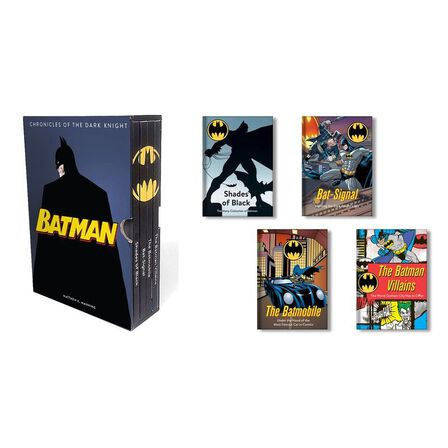 RUNNING PRESS - Batman Chronicles of the Dark Knight (4 hardcover illustrated books)