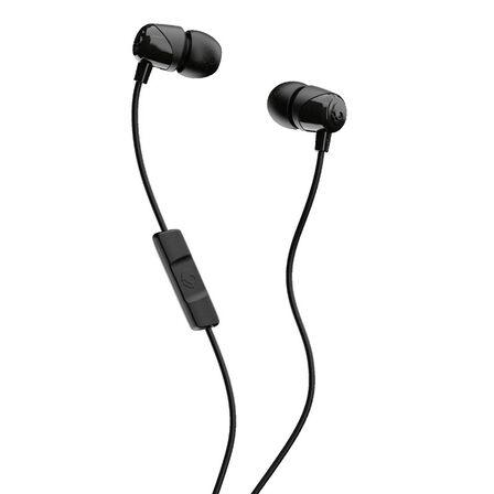 SKULLCANDY - Skullcandy Jib Black/Black/Black with Mic 1 In-Ear Earphones