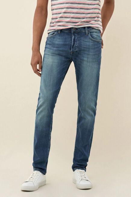 Salsa Jeans - Blue Greencast slender slim carrot premium wash jeans