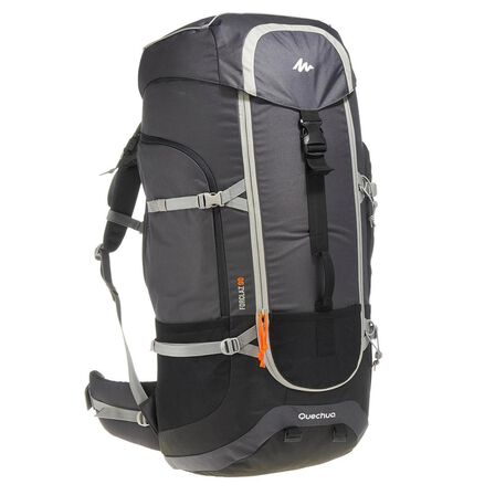 FORCLAZ - Unique Size  Men's mountain trekking rucksack | FORCLAZ 90L - grey, Carbon Grey