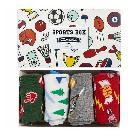 MOUSTARD - Moustard Sports Socks Box Unisex