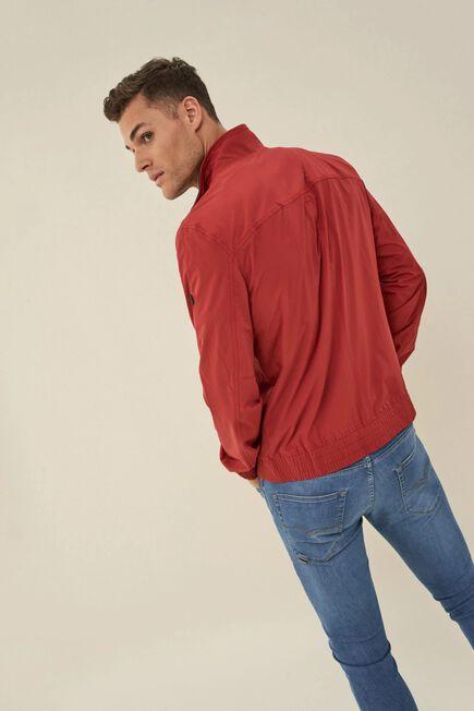 Salsa Jeans - Red Windproof nylon jacket
