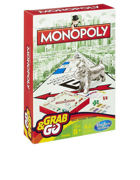 HASBRO - Monopoly Grab And Go