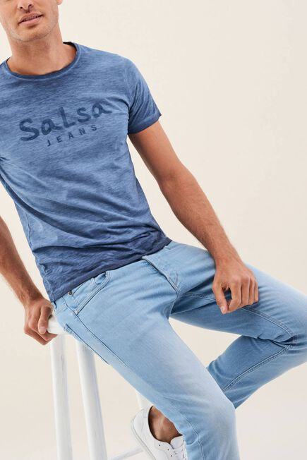 Salsa Jeans - Blue Clash skinny jeans in light colour