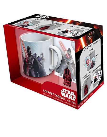 ABYSTYLE - Abystyle Star Wars Pack Vader [Mug + Keyring + Stickers]