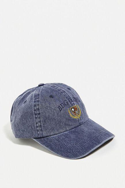 Urban Outfitters - Navy BDG Denim Crest Cap
