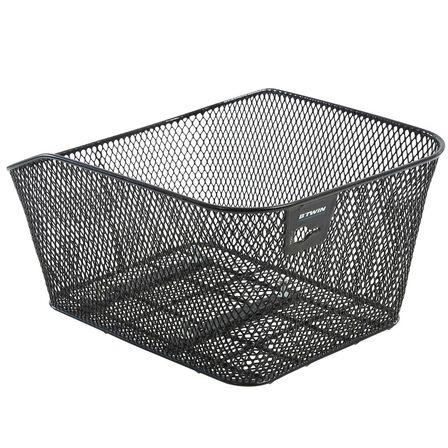 ELOPS - 13L Bike Basket 100 Back Pannier - Black