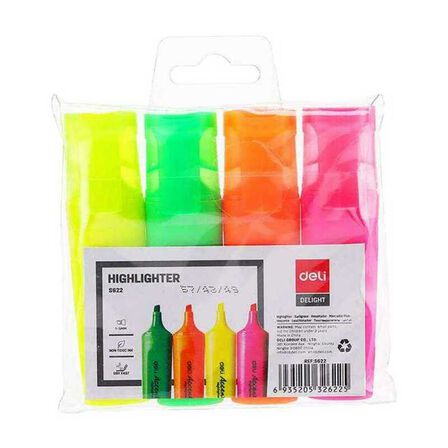 DELI - Deli Highlighter Chisel Tip 1-5 mm [Assortment - Includes 1]