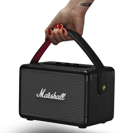 MARSHALL - Marshall Kilburn II Black Portable Bluetooth Speaker