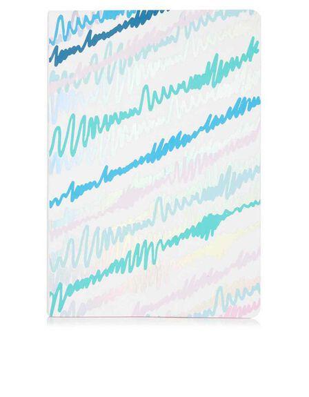 SKINNY DIP - Skinny Dip Scribble Blue Notebook