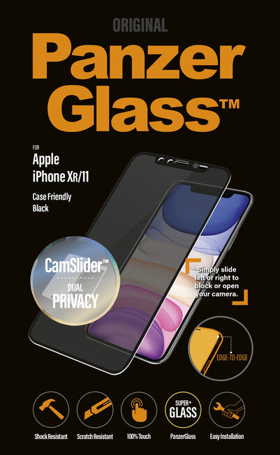 PANZERGLASS - PanzerGlass Camslider Privacy CF Black for iPhone 11