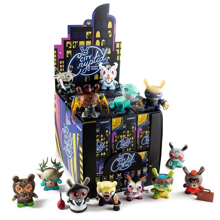 KIDROBOT - Kidrobot City Cryptid Multi-Artist Dunny Art Figure Series Blind Box [Includes 1]