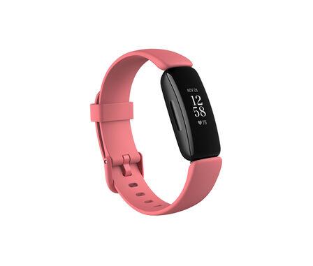 FITBIT - Fitbit Inspire 2 Desert Rose/Black Smart Watch