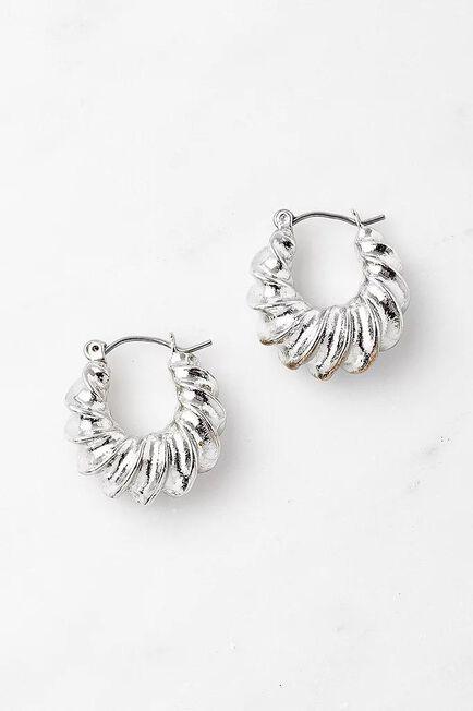 Urban Outfitters - SLVR UO New Everyday Hoop Earrings