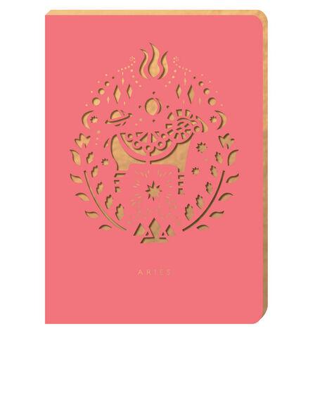 PORTICO DESIGN LTD - Portico Design Aries Zodiac Red A6 Notebook