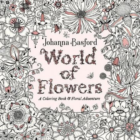 PENGUIN USA - World of Flowers A Coloring Book and Floral Adventure