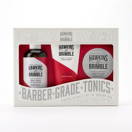 HAWKINS & BRIMBLE - Hawkins & Brimble Root to Tip Grooming Gift Set [Includes Face Wash/Body Wash/Matt Clay]