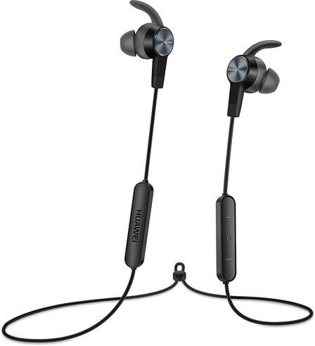 HUAWEI - Huawei AM61 Graphite Black Stereo In-Ear Earphones