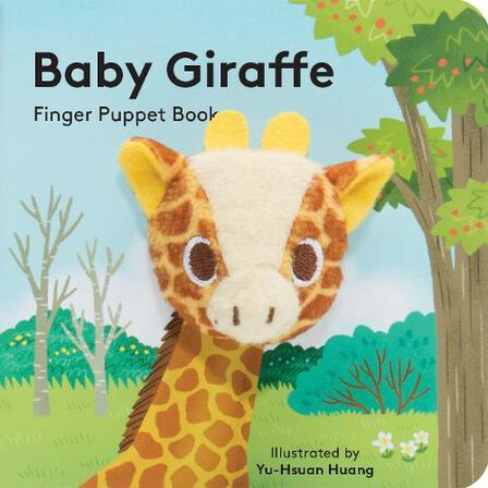 CHRONICLE BOOKS LLC USA - Baby Giraffe Finger Puppet Book