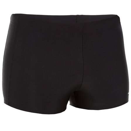 NABAIJI - Extra Large  MEN'S SWIMMING BOXERS 100 PLUS - BLACK, Black