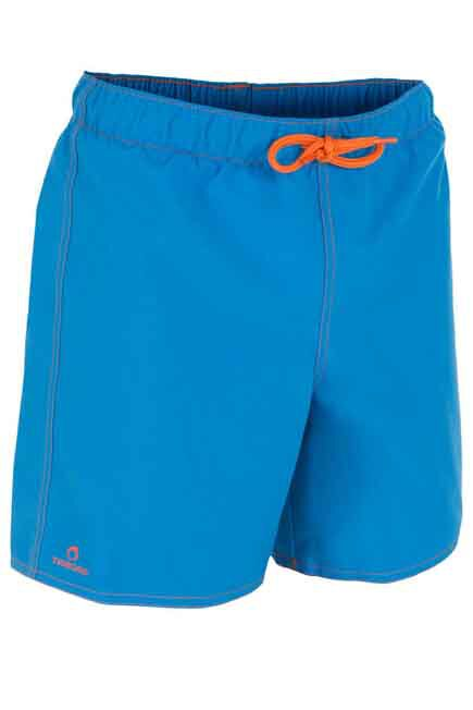 OLAIAN - Hendaia Boys' Short Boardshorts - Prems Blue, 8-9Y