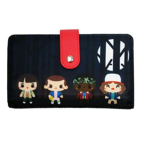 LOUNGEFLY - Loungefly Stranger Things Purse Wallet