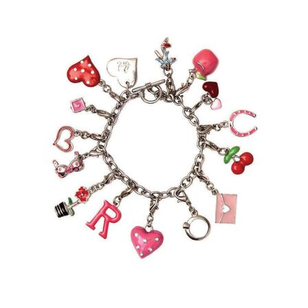 BOMBAY DUCK - Bombay Duck Bracelet with Heart Tag Charm