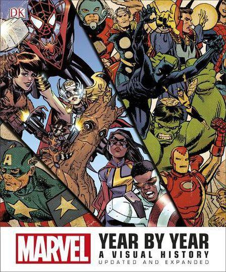 DORLING KINDERSLEY UK - Marvel Year by Year