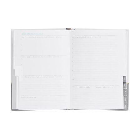 KIKKI.K - kikki.K 2020 A6 Weekly Diary Inspiration Mist Grey