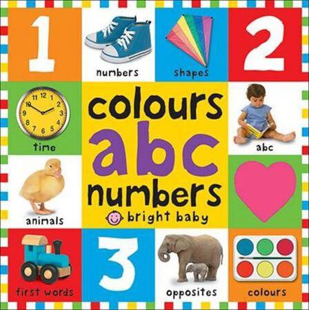 PRIDDY BOOKS UK - Colours ABC Numbers