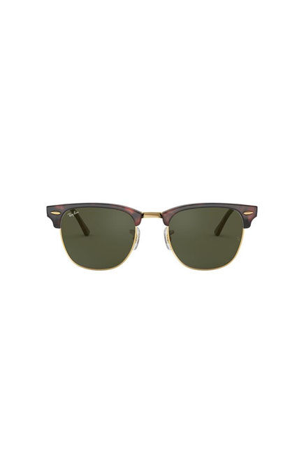 RAY-BAN - Tortoise Square Ray-Ban RB3016 CLUBMASTER CLASSIC