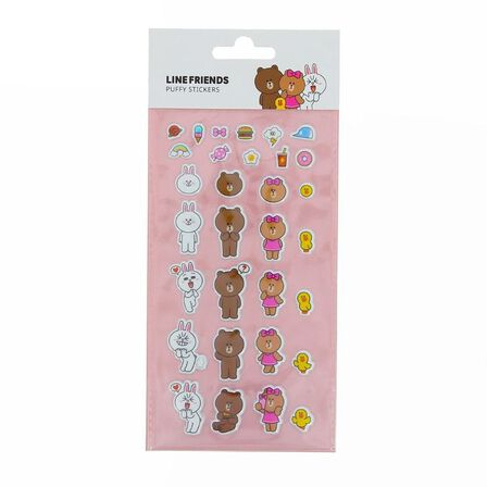 BLUEPRINT COLLECTIONS - Line Friends Stickers Puffy