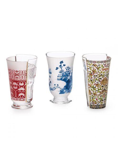 Seletti - Hybrid Clarice Set of 3 Glass